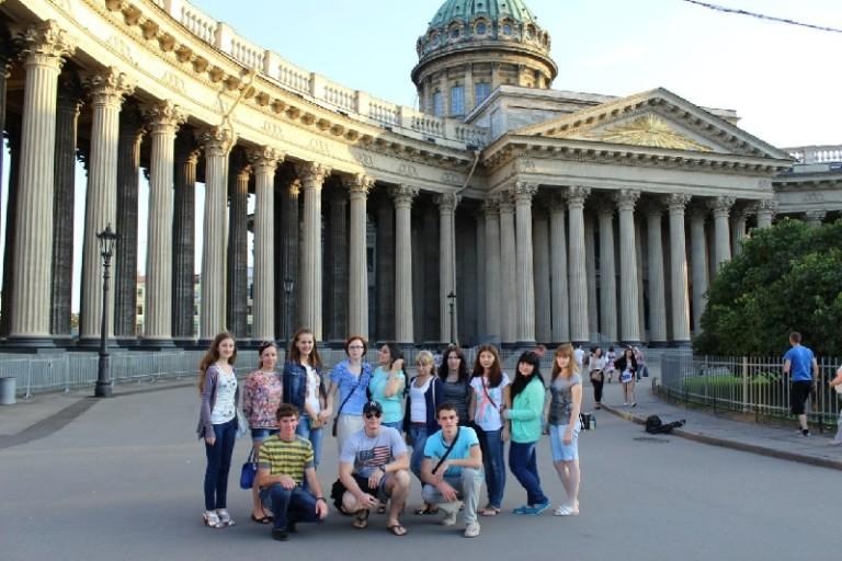 Прошла экскурсия по Санкт-Петербургу